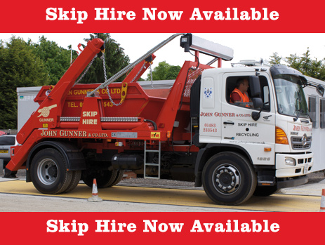 Skip Hire Truck, John Gunner & Co Ltd.
